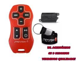 Controle Longa Distancia Stetsom Sx2 Light Completo Vermelho