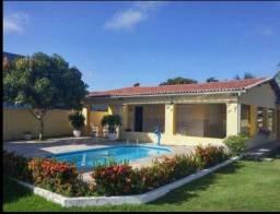 Alugo casa em Serrambi, 6qtos (5sts), quadra, piscina, churrasqueira, próxima do mar.