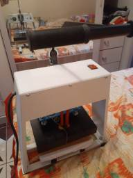 Máquina de estampar camiseta da compacta print
