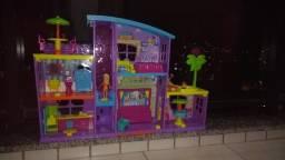 Mega Casa de Surpresas da Polly com elevador - Usada