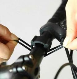 Suporte de silicone para lanterna multifuncional bike, bicicleta Novo