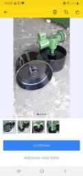 Roletes com eixo de ferro e rolamentos para lixadeira