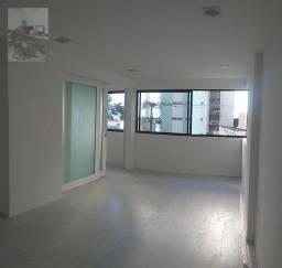 Apartamento com 3 dormitórios para alugar, 92 m² por R$ 3.370/mês - Boa Viagem - Recife/PE