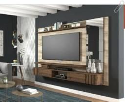 Pra Acabar!! Painel Murano para TV e Lateral com Espelho - Só R$699,00