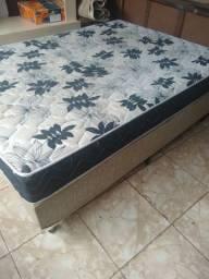 Cama Box com o colchão/passo cartão