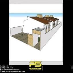 Casa com 2 dormitórios à venda por R$ 120.000 - Aeroporto - Bayeux/PB