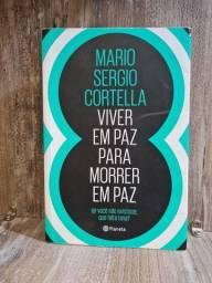 Livro: viver em paz para morrer em paz. Mario Cortella