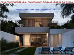 Casa Moderna a venda Rio Mar Barra da Tijuca.