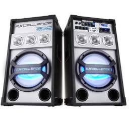 Par de Caixas de Som Amplificadas NKS Excellence PK3000 300W