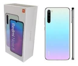 Xiaomi Redmi Note 8 4GB Ram / 64GB Rom, Branco, novo (Lacrado)