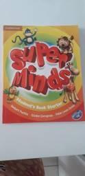 Livro de Inglês gramática Super Minds