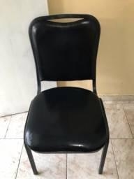 Cadeira com estofado