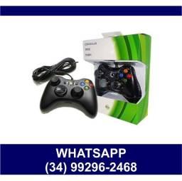 Controle Xbox com Fio Usb - Serve no Computador