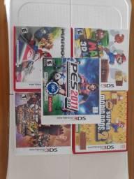 5 jogos Nintendo 3ds