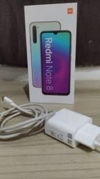 Xiaomi,Redmi note 8 , celular em perfeito Estado, sem marca de uso