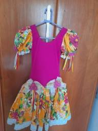 Vestido Via flora Girls Tam 10