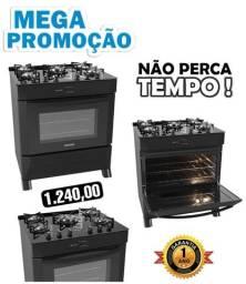 Fogão NOVO VIDRO TEMPERADO