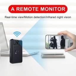 Mini Câmera Wi-Fi Inteligente Sem Fio Jozuze 4k