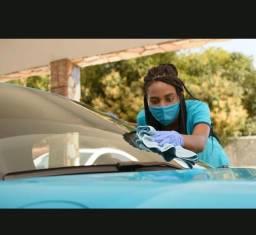 Vaga para mulher limpeza automotiva