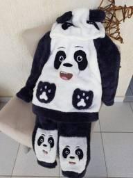 Pijama panda feminino (Outono/inverno)
