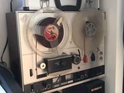 gravador de rolo akai