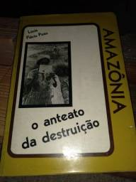 Livros sobre a Amazonia/Pará - 20 cada.