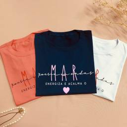 T-shirts femininas | Pronta-entrega