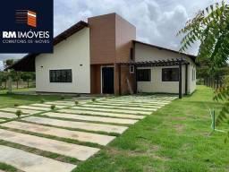 Casa de condomínio à venda com 4 dormitórios em Busca vida, Camaçari cod:RMCC1321