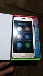 Motorola moto g5s na cx sem uso com nota fiscal