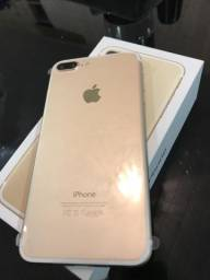 Iphone 7 plus 128gb novo lacrado no plastico