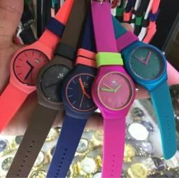 Relógio Masculino Feminino Adidas Colors - Aceita Cartão!