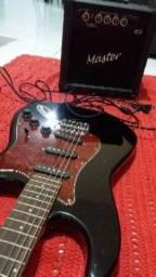 Guitarra giannini + amplificador