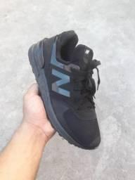 Tênis New Balance 574 Black Entrega gratuita Todas Pontuações