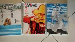 Mangás Arakawa Under the Bridge - ótimo estado!