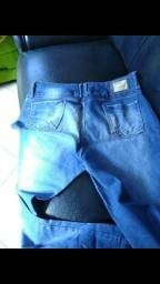 Calca jeans Plus size e bermuda jeans trás lycra tamanho 54