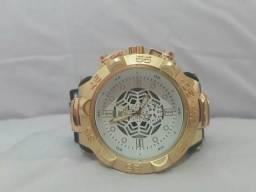 Relógio Invicta Subaqua Branco Dourado + Frete Grátis