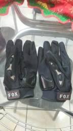 Luva motoqueiro fox