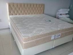 ::: Cama Box Probel Colchao Super King 193x203 Molas Ensacadas Pocket