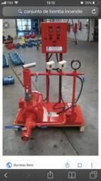 Instalação de sistema de combate à incêndio Saponificante, CO2, FM 200, NOVEC 1230