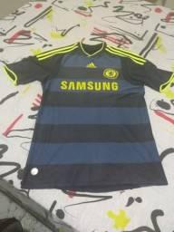 Camisa Chelsea temporada 2009 2010 Away 16def54b12620