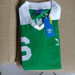 a8ffc19ecc Camisa Adidas Retrô Alemanha - Beckenbauer
