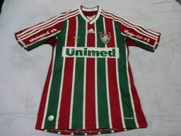 686276c12a Camisa Fluminense tricolor 2009 2010 tamanho P