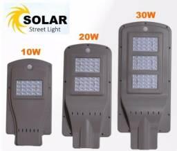 Vendedor de luminária solar