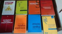 Livros secretariado e administração, 22 livros por 30,00 reais