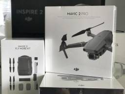 Mavic 2 Pro com câmera Hasselblad! + combo Fly More