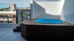 Cobertura em Ipatinga, 215 m², 2 vgs, 4 quartos/2 suites máster, elevador. Valor 550 mil