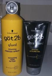 Gel Got 2b + Got 2b Freeze Spray 100% original