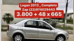 Logan 2013 _ 3.800 de Entrada _ Completo _ Pouco Rodado - 2013