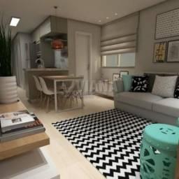 Apartamento à venda com 1 dormitórios em Príncipe de gales, Santo andré cod:55973