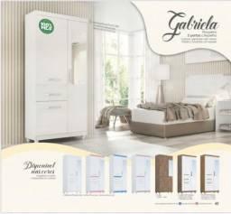 Roupeiro Gabriela 3 pts c/ espelho